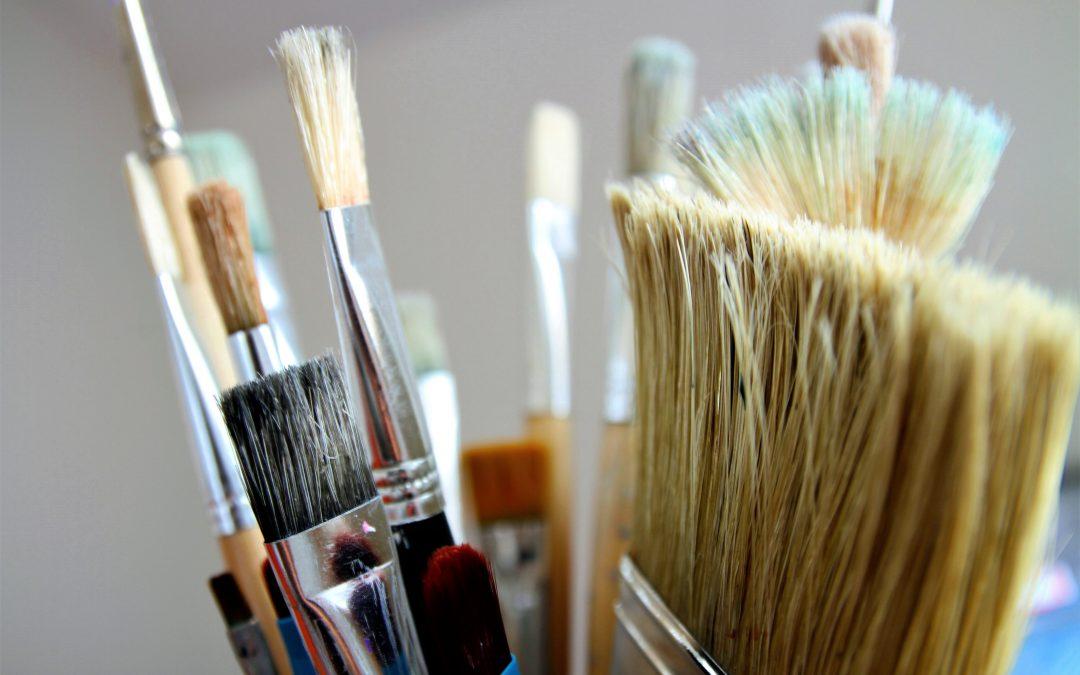 Hvilken pensel maler du med?