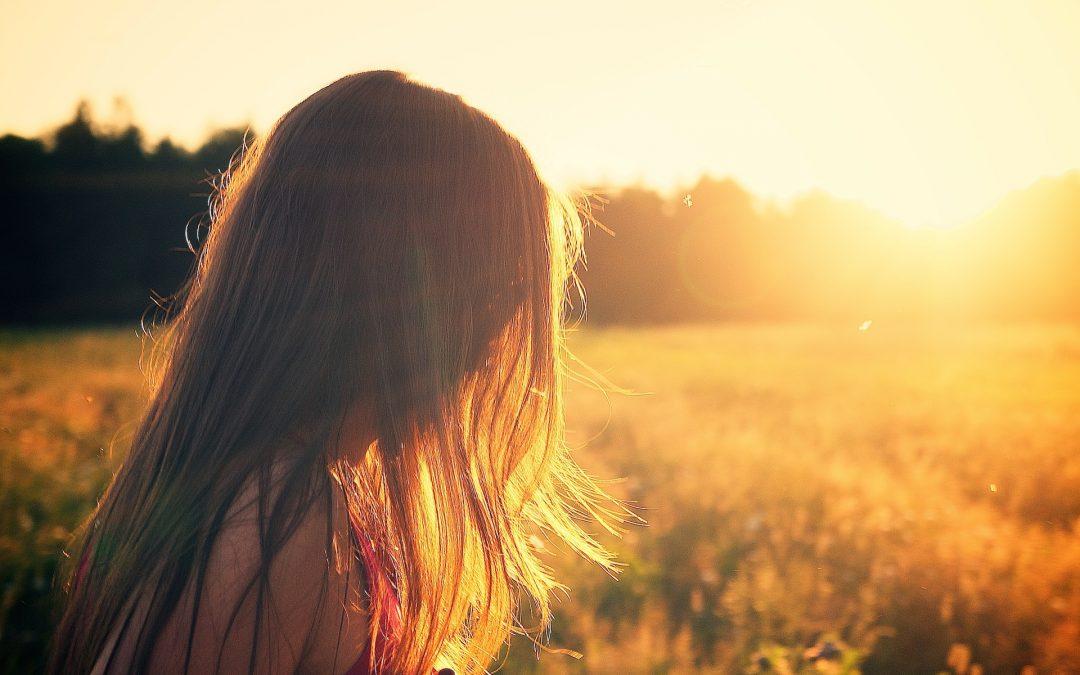 Solstråler og det at kunne se og nyde lyset igen